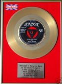 "RICKY NELSON -24 Carat Gold 7"" Disc - POOR LITTLE FOOL"